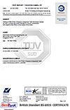 British Standart BS-6920 Certificate