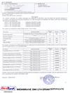 Membrane DM-174 EPDM Certificate