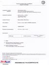 Membrane PAH Certificate